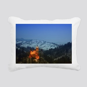 bran castle  Rectangular Canvas Pillow