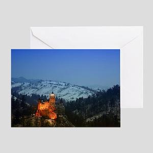bran castle  Greeting Card