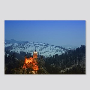 bran castle  Postcards (Package of 8)