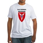 3rd Signal Brigade Fitted T-Shirt