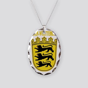 Baden-wurttemberg COA Necklace Oval Charm
