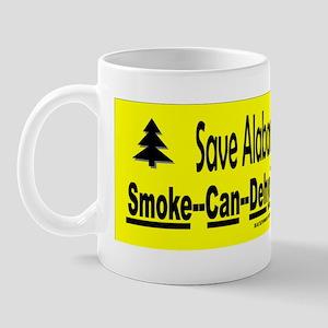 Save Alabamas wildlife Sticker Mug