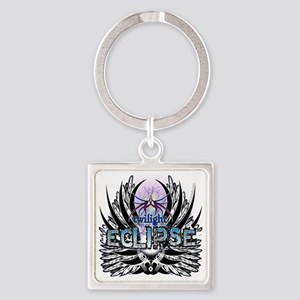 Twilight Eclipse Native Wings Square Keychain