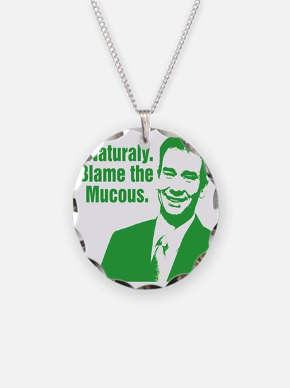 MQS_GREEN_CORRECT Necklace Circle Charm