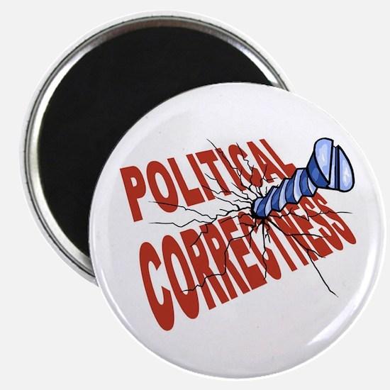 "Screw Political Correctness 2.25"" Magnet (10 pack)"