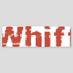 Whiff Sticker (Bumper)