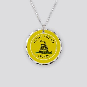 btn-dont-tread-on-me Necklace Circle Charm
