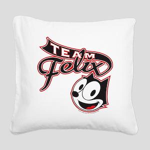 teamfelix Square Canvas Pillow
