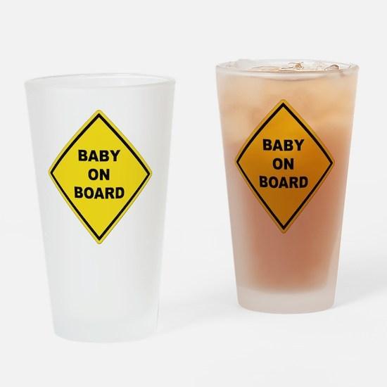 BABYONBOARD Drinking Glass