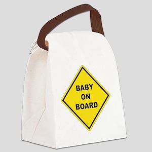 BABYONBOARD Canvas Lunch Bag