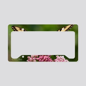 butterfly License Plate Holder