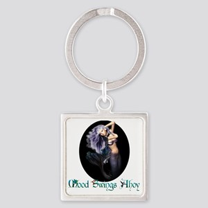 MaternityMermaid Square Keychain