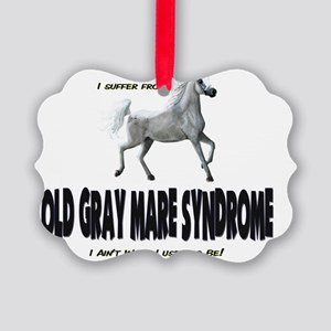 oldgraymaresyndrome Picture Ornament