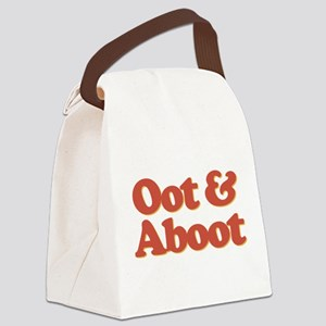 Oot & Aboot Canvas Lunch Bag