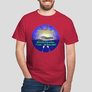 Blissful Paradise Cruise 2007 - Dark T-Shirt