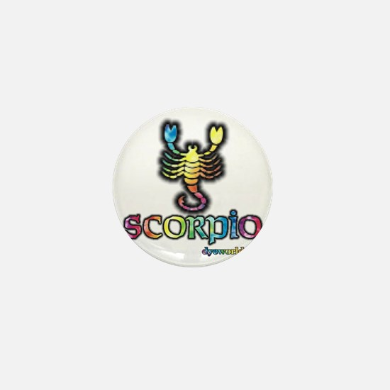zodiac-scorpio Mini Button