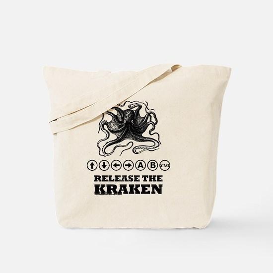 Kraken Release Cheat Code Tote Bag
