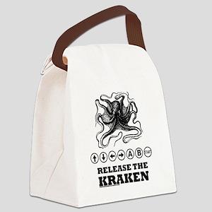 Kraken Release Cheat Code Canvas Lunch Bag