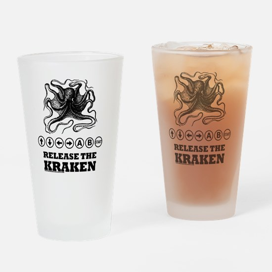 Kraken Release Cheat Code Drinking Glass