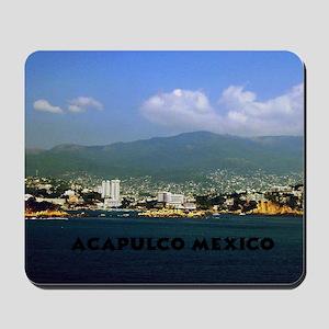 acapulco label12x18 Mousepad