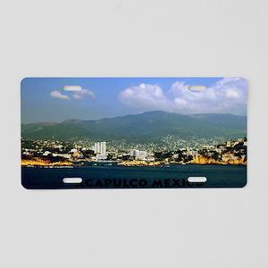 acapulco label12x18 Aluminum License Plate