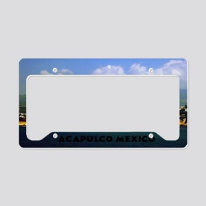 acapulco label12x18 License Plate Holder