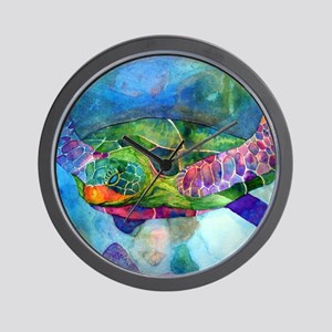 sea turtle full Wall Clock