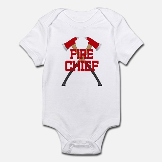Fire Axes Firefighter Infant Bodysuit