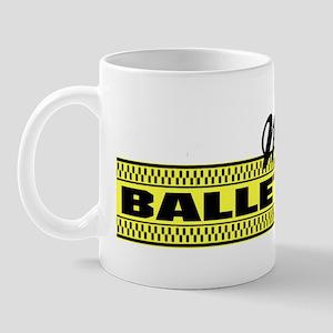 Moms Ballet Taxi bumper sticker Mug