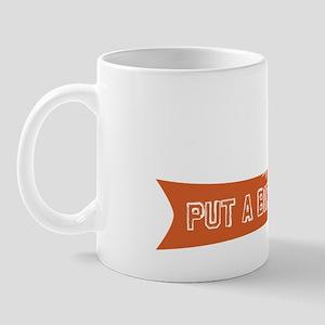 putabirdonitblack2 Mug