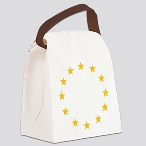 stars_wo_europe Canvas Lunch Bag