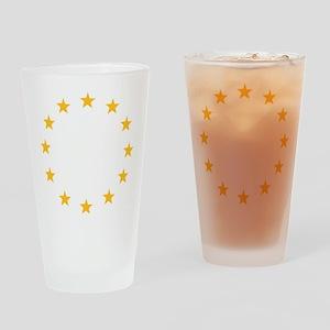 stars_wo_europe Drinking Glass
