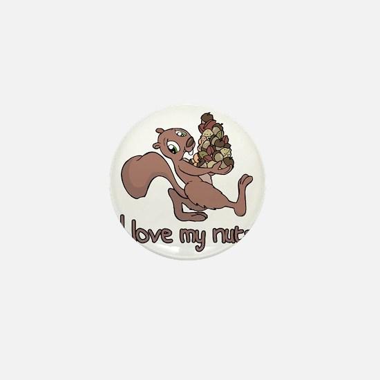 my nuts Mini Button