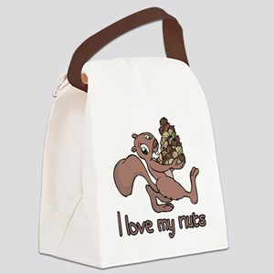 my nuts Canvas Lunch Bag