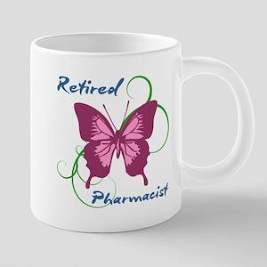 Retired Pharmacist (Butterfly) Mugs