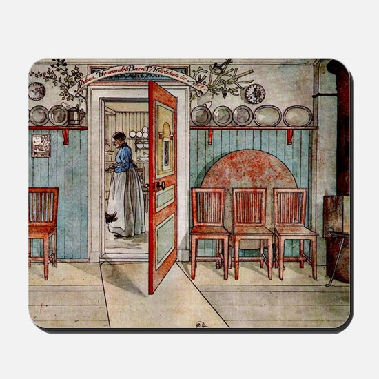 Carl Larsson painting: Old Anna Mousepad