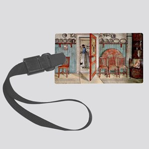 Carl Larsson painting: Old Anna Large Luggage Tag