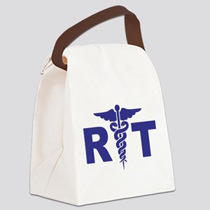 Respiratory Therapy Canvas Lunch Bag