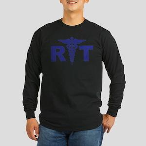 Respiratory Therapy Long Sleeve Dark T-Shirt
