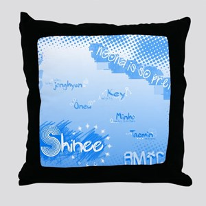 SHINee mousepad Throw Pillow