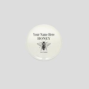 Local Honey Mini Button