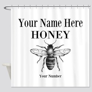 Local Honey Shower Curtain