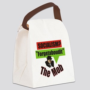 Forgetaboudit-Socialism-The Mob Canvas Lunch Bag