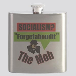 Forgetaboudit-Socialism-The Mob Flask