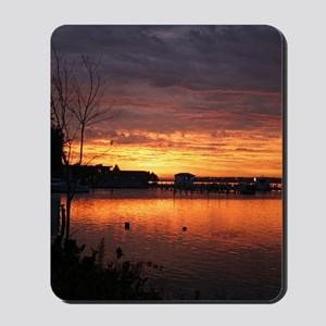 Full color sunrise (century club 10-2009 Mousepad