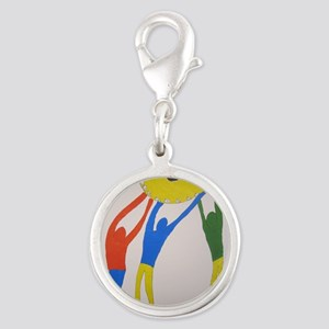 TomerTal togetherness Silver Round Charm