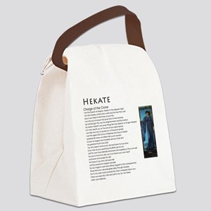 Charge of the Crone Hekate Canvas Lunch Bag