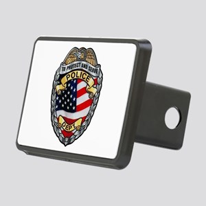 Police To Protect and Serve Hitch Cover