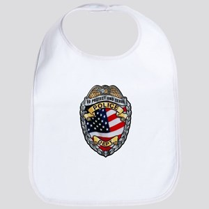 Police To Protect and Serve Bib