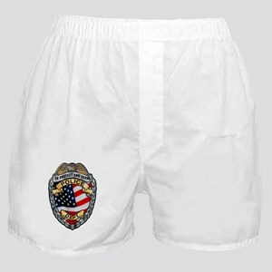 Police To Protect and Serve Boxer Shorts